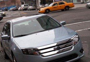 2010 Ford Fusion Hybrid in NYC