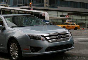 Ford Fusion in New York City
