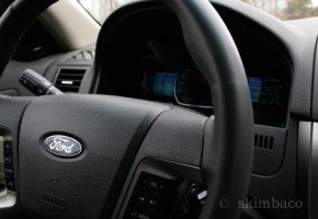 Steering Wheel, 2010 Ford Fusion Hybrid