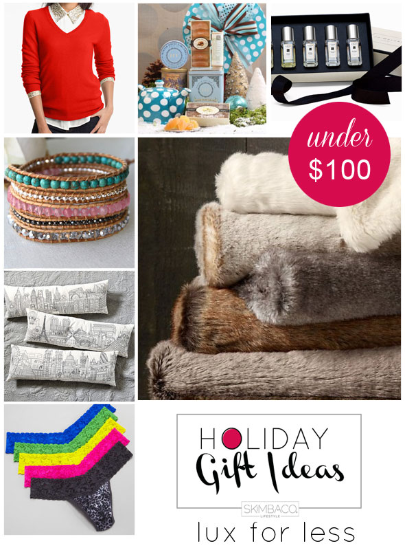 Holiday gift guide 7 luxe holiday gift ideas for her for Luxury gift ideas for her