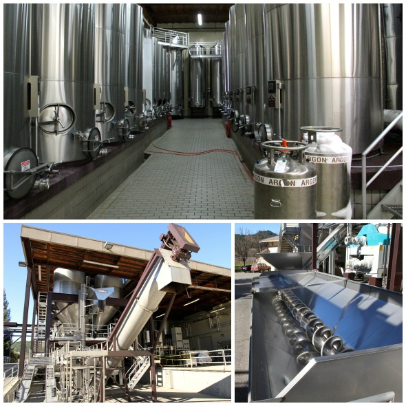 Ferrari-Carano Winery Equipment