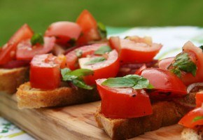 Bruschetta recipe as seen on Skimbaco Lifestyle