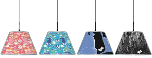 moomin pendants by le klint