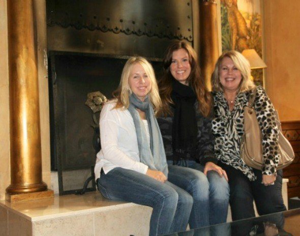 Kim, Adrienne and Heather at Hotel Monaco in San Francisco