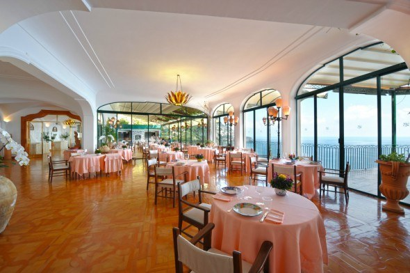 San Pietro Hotel on the Amalfi Coast, Italy