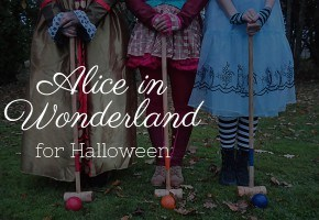 Alice in Wonderland as a Halloweeen Theme