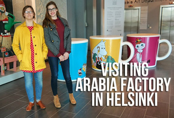 Visiting Finnish design Arabia factory in Helsinki