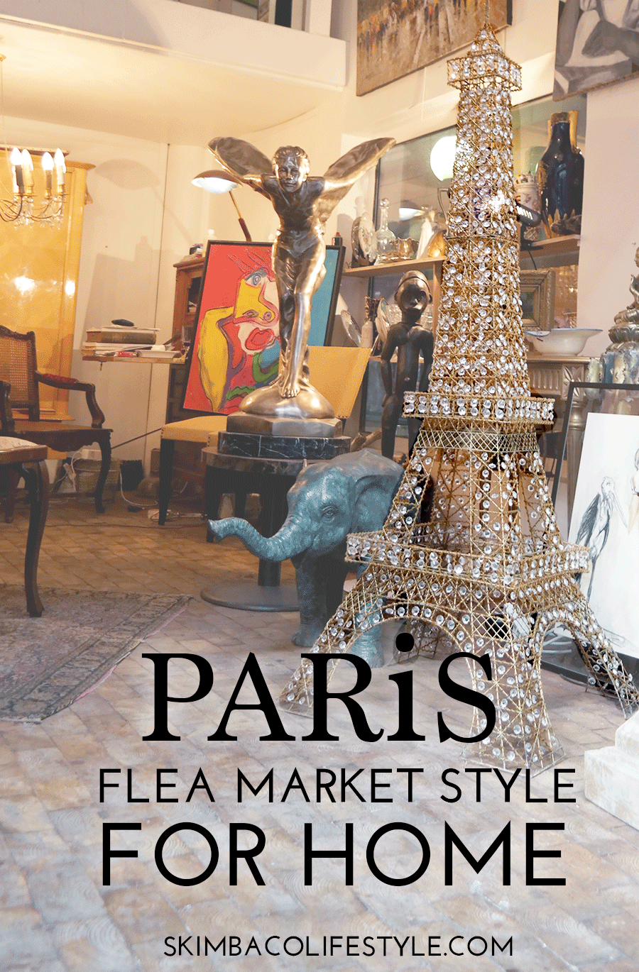 Paris Flea Market Style As Home Decorating Inspiration