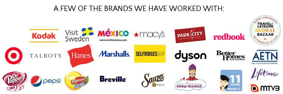 Skimbaco Lifestyle media kit: brands we have worked with