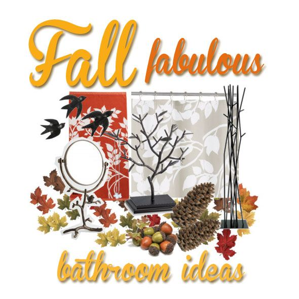 Fall Bathroom Decorating Ideas Decorate With Birds And Trees