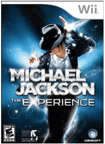 michael jackson the experience wii game video
