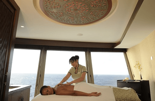 Disney Dream inaugural voyage, Disney cruise for adults, spa on cruise