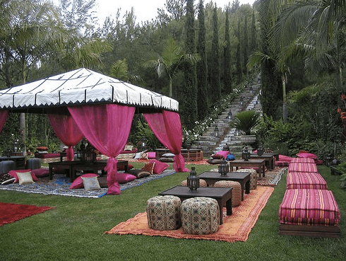 Backyard Party Theme Moroccan Nights Skimbaco Lifestyle Online Magazine