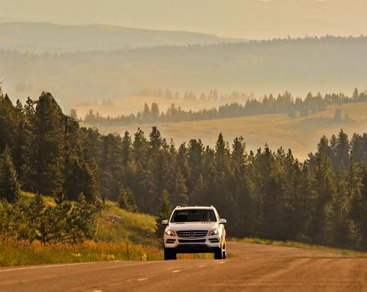 Mercedes-Benz M-Class, 2012 ML350 review, M-Class Photos