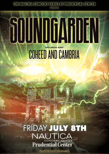 soundgarden presented by Nautica