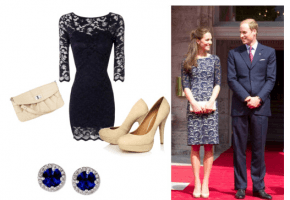 kate middleton look for less