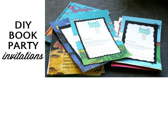 book-party-invitations