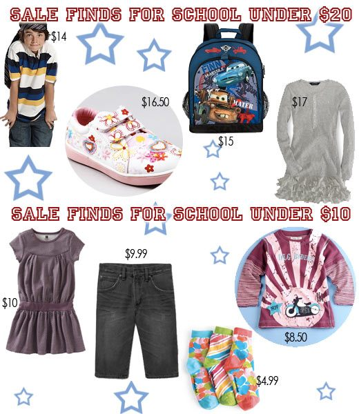 back to school sales fashion picks for 20