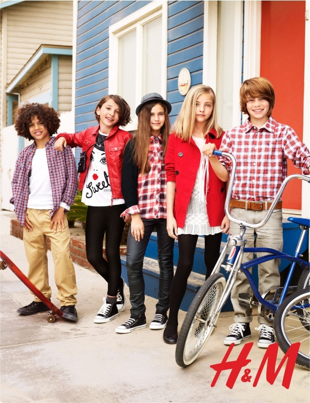 H&M Back to School Kids Clothing Collection 2011 | Skimbaco ...