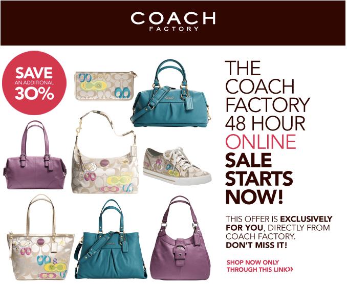 Coach Factory Online Sale Invitation is amazing invitation example