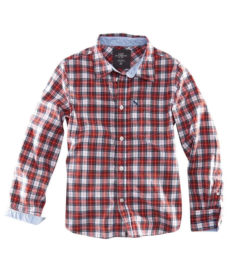 Back to school collection 2011 boys plaid shirt skimbaco