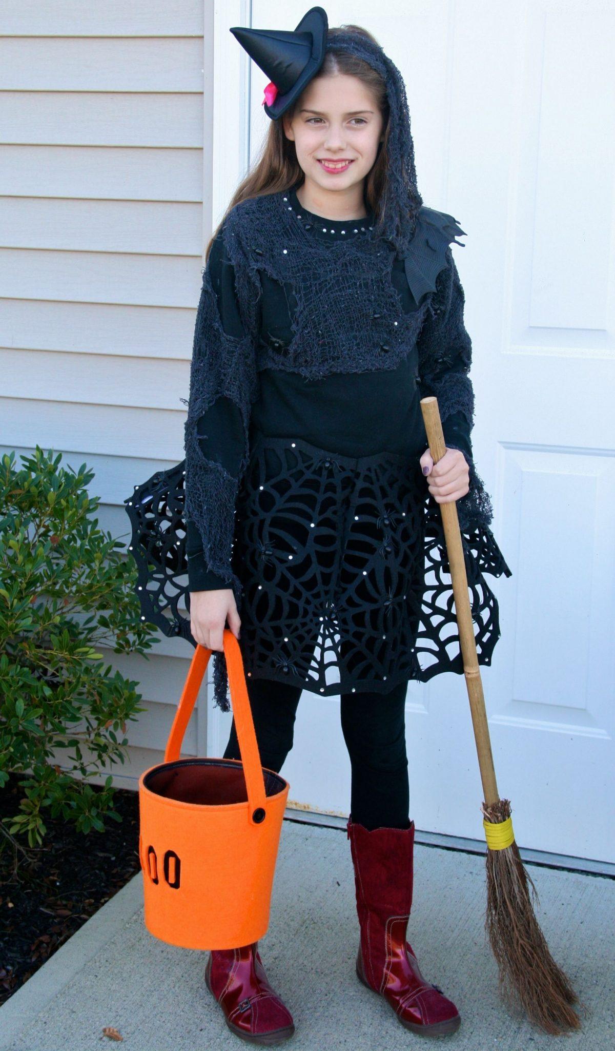 DIY Trendy Witch Costume For TweenTeen Girls Skimbaco