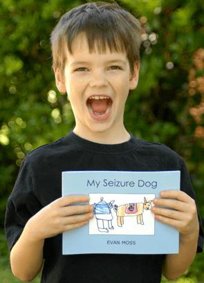 Evan, Seizure Dog