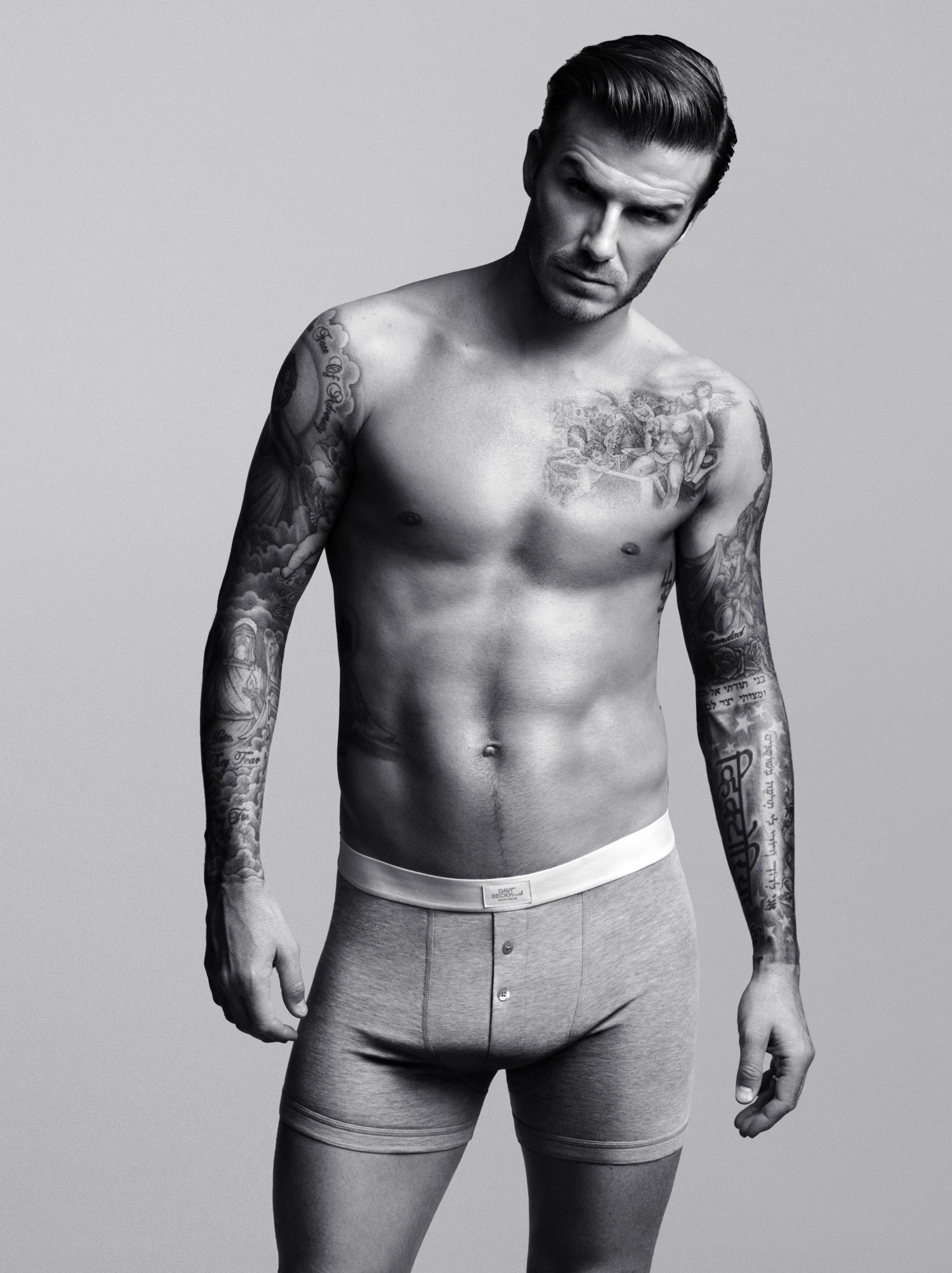 H Amp M David Beckham Bodywear Collection Amp Super Bowl Ad