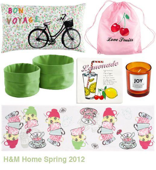 H&M Home collection 2012 photos