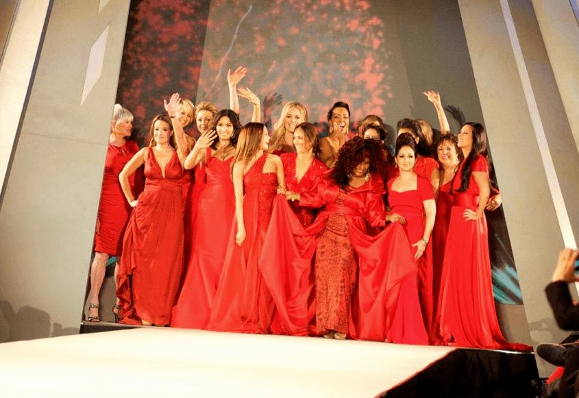 go red fashion show new york fashion week
