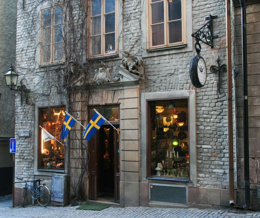 antique store in Stockholm, shopping antiques in Stockholm