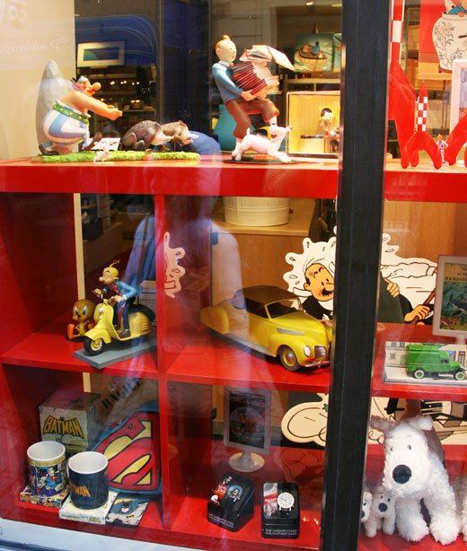 Tintin products, Tintin store