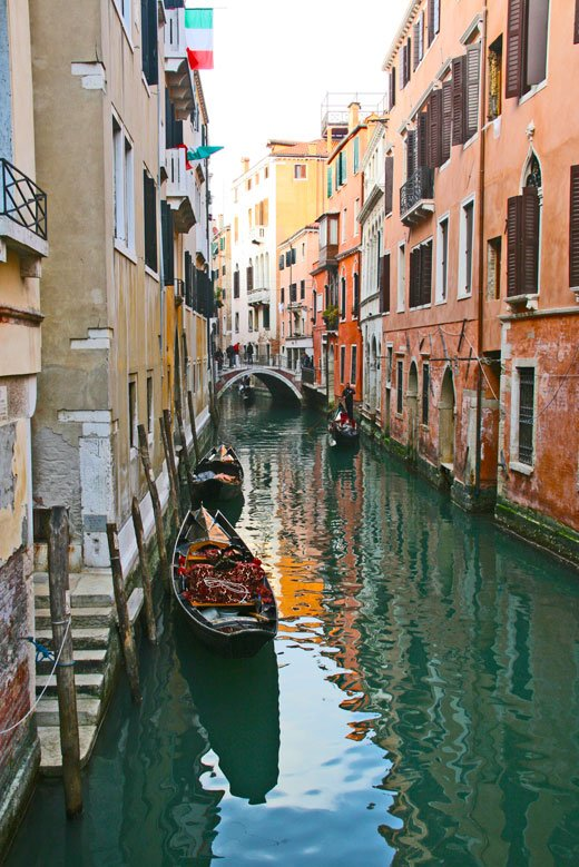 Italy travel photos, canals of Venice
