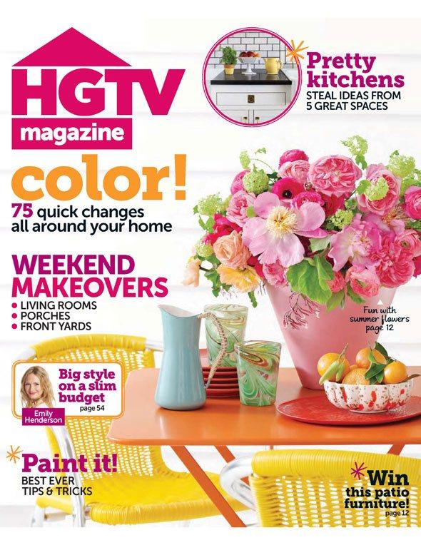 HGTV Magazine Now In The Newsstands (Sneak Peek Photos