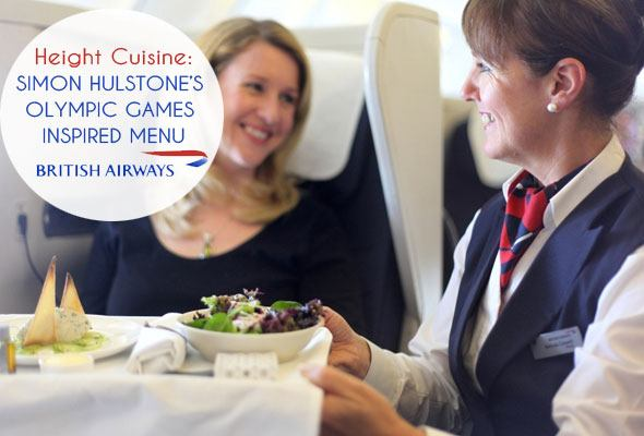 British Airways Olympic themed menu as seen on https://www.skimbacolifestyle.com