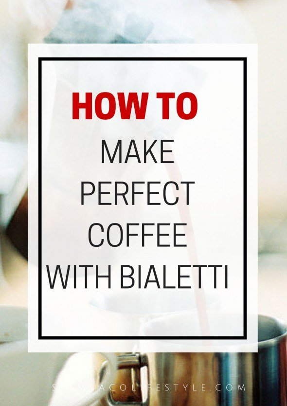 How to use Bialetti stove top espresso maker to make yourself a perfect cup of latte. Via @skimbaco