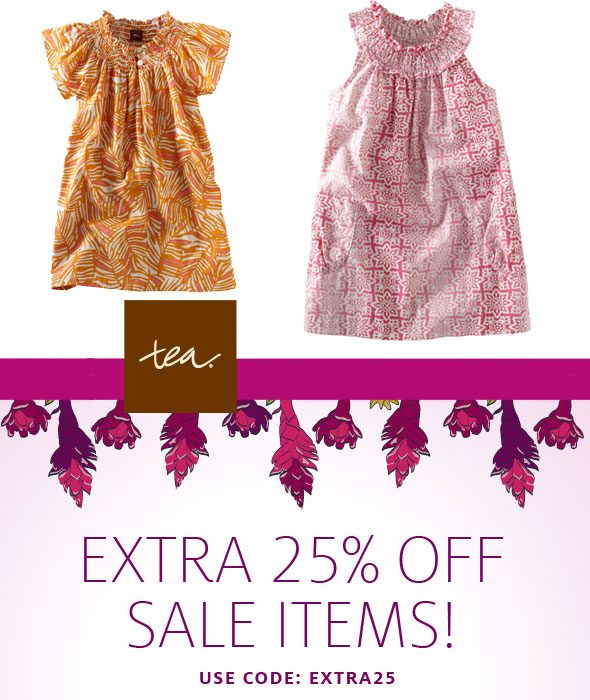 Save money with Tea Collection coupons to get discounts on Children's Clothing whenever you buy Children's Clothing. Save big bucks w/ this offer: Free shipping on orders over $ Get the best deals.