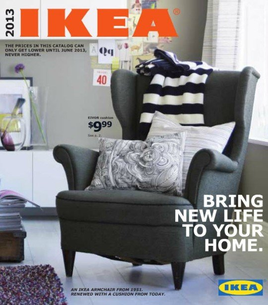 IKEA 2013 catalog cover photo