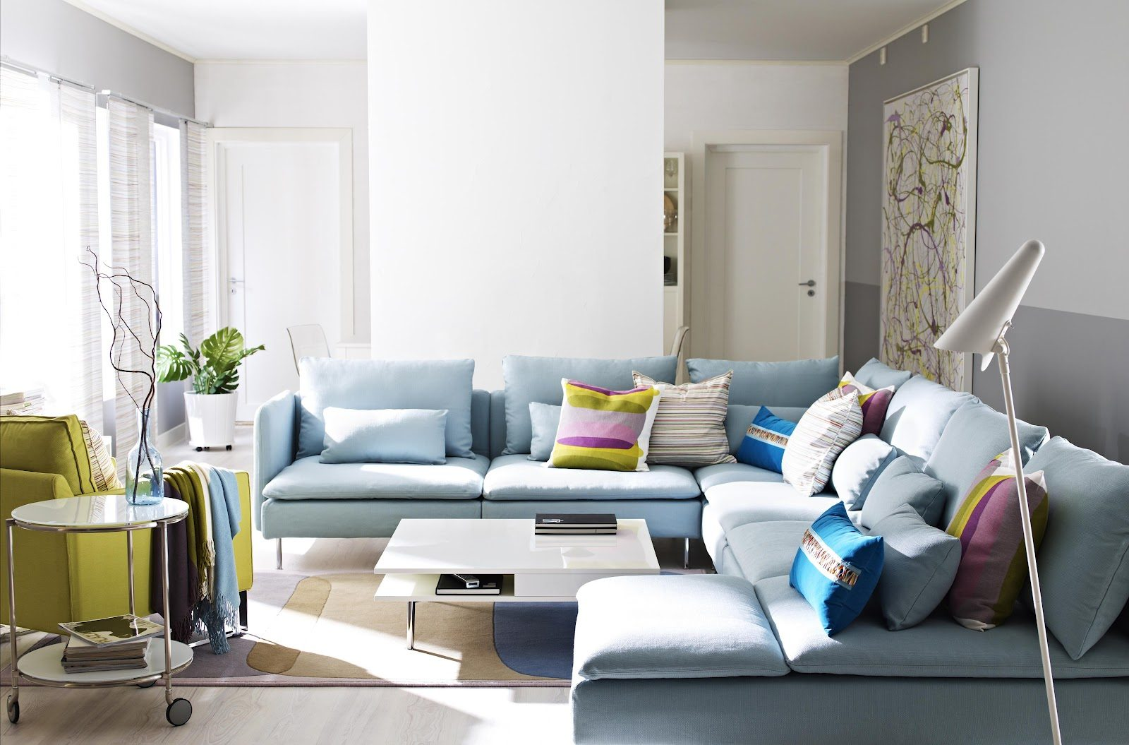 Turquoise furniture, yes please! It's one of my favorite colors in ...