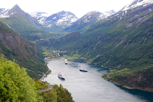 Geirangerfjord in Norway by @SatuVW