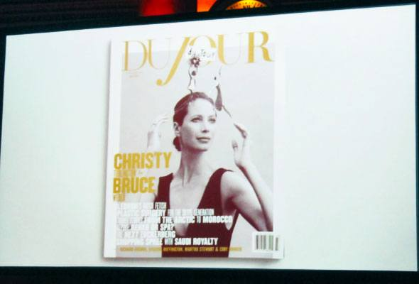 DuJour magazine launch event in New York