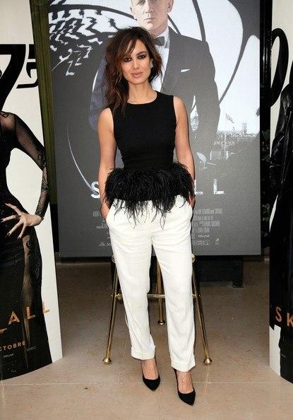 Berenice Marlohe Skyfall Dress And also in France- Berenice