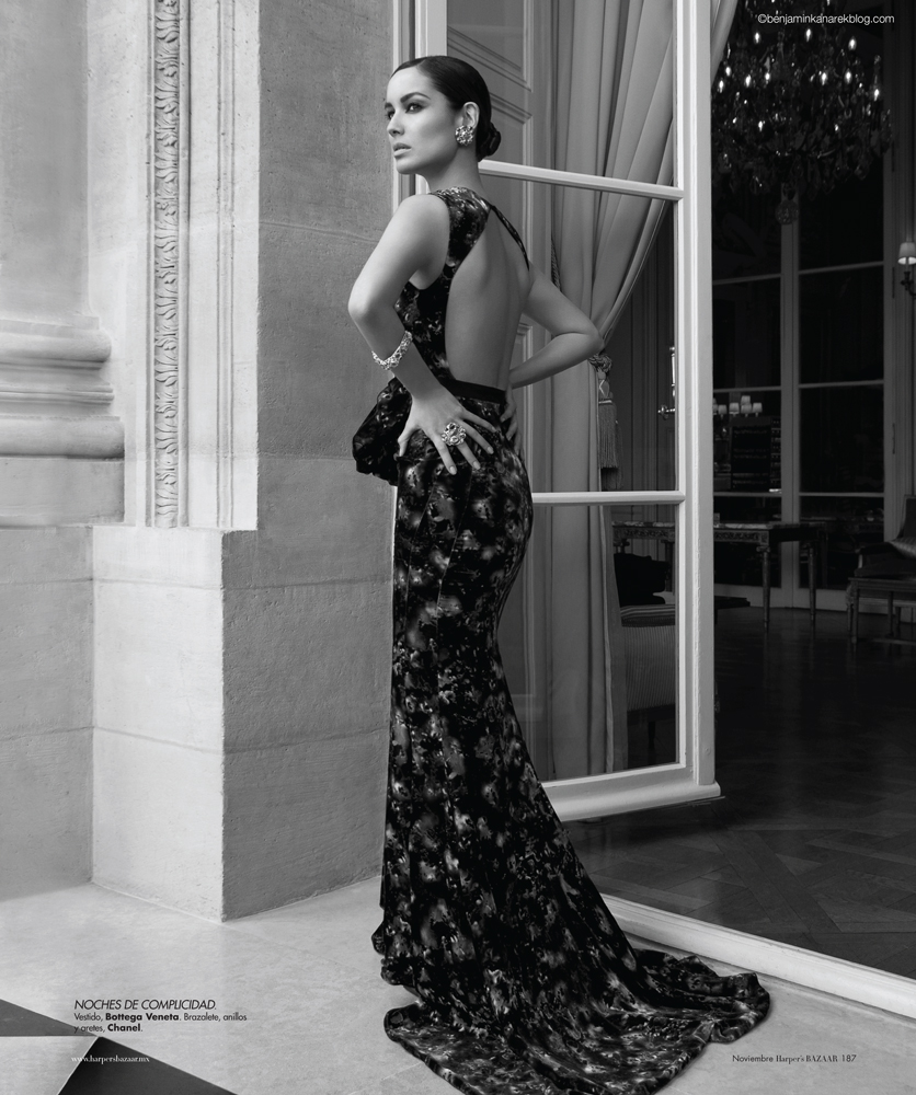 Berenice Marlohe Skyfall Dress Just in: Video Intervi...