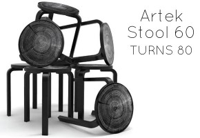 Artek: Alvar Aalto's stool 60 turns 80
