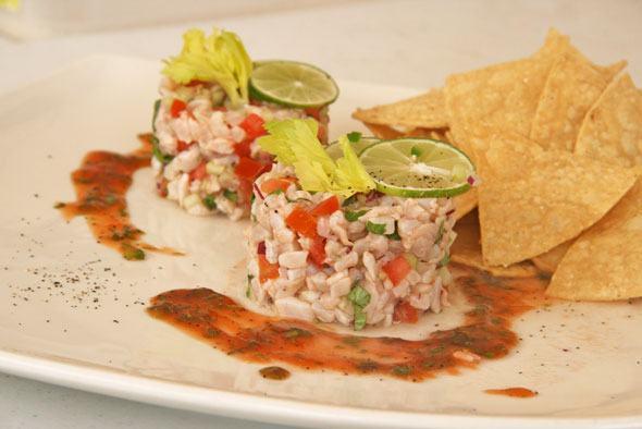 Global kitchen mexican ceviche recipe skimbaco for Fish ceviche recipe