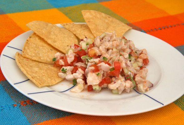 Global Kitchen: Mexican Ceviche Recipe - Skimbaco Lifestyle online ...