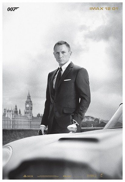 James Bond Skyfall movie review, skyfall movie poster