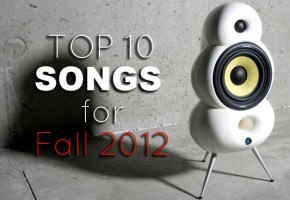 top 10 Music list for Fall 2012