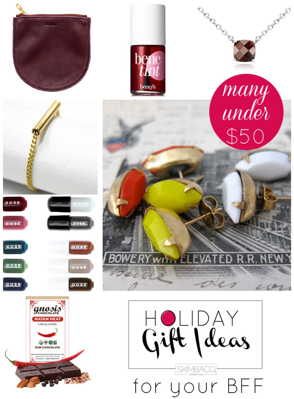 Holiday Gift Guide: 7 Gift Ideas for Your Best Friend {from Nina}