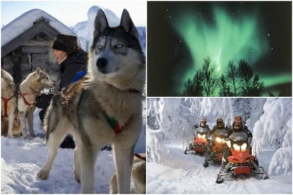 Rovaniemi in the winter by Visit Rovaniemi